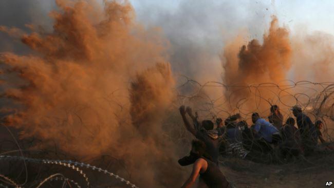 Konflik warga Palestina dan tentara Israel kerap terjadi di Jalur Gaza. (Foto: AP)