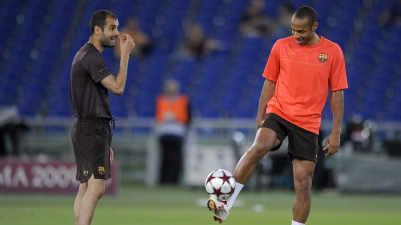 Guardiola dan Henry
