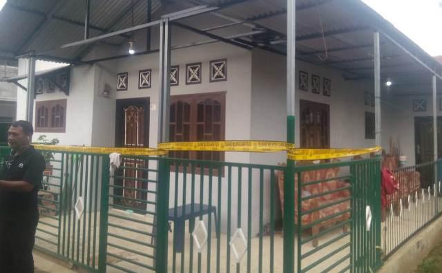 Rumah korban penculikan di Deliserdang (Foto: Liansah Rangkuti).