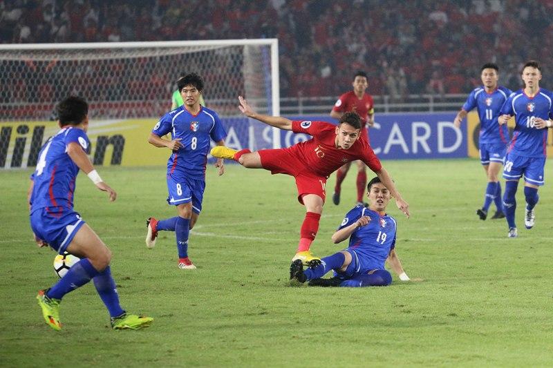Timnas Indonesia U-19 vs Taiwan