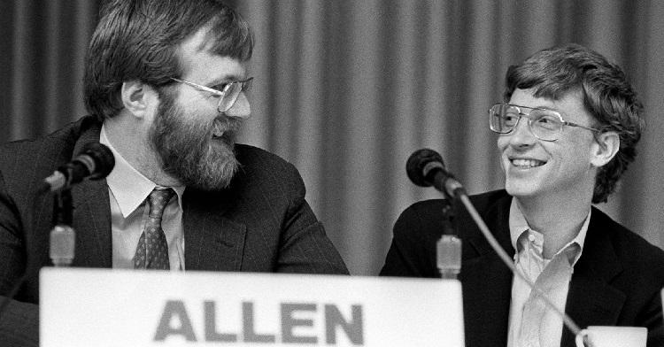 Bill Gates dan Paul Allen