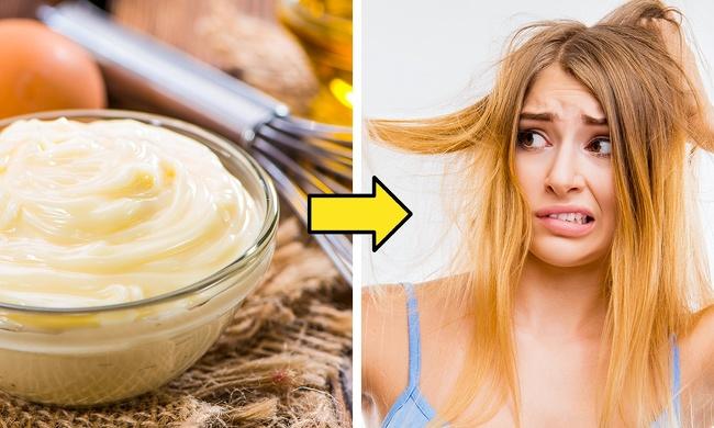 mayonaise untuk konditioner rambut