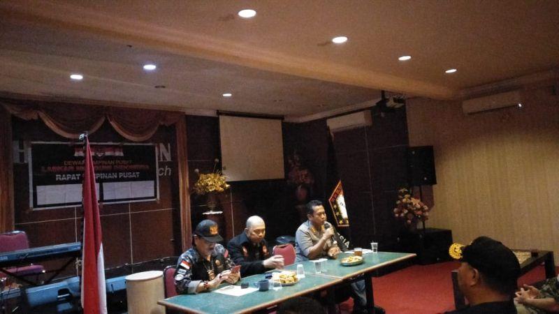 Rapat umum DPP LMI (foto: Subhan Sabu/Okezone)