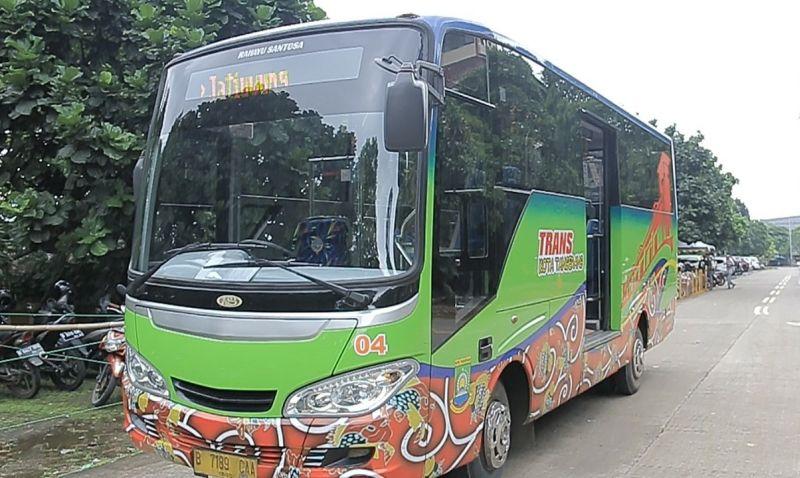 BRT Tangerang (foto: Anggun/Okezone)