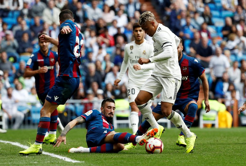 Real Madrid vs Levante (Foto: Reuters)