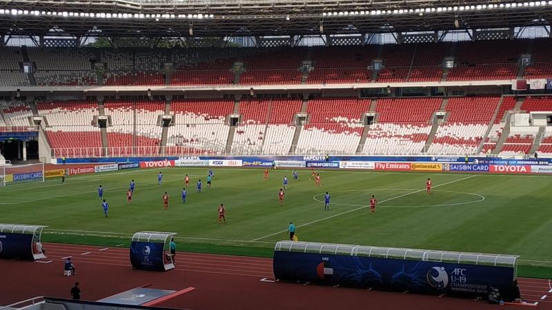 Laga UEA vs Taiwan di Piala Asia U-19 2018
