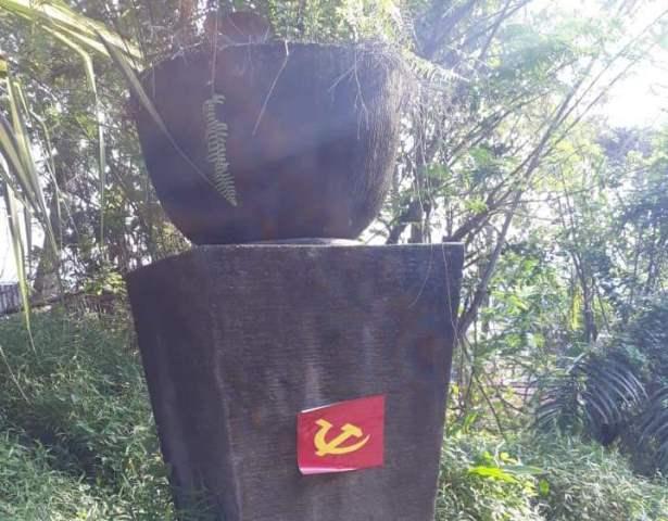 Lambang PKI ditempel di perumahan mewah Balikpapan