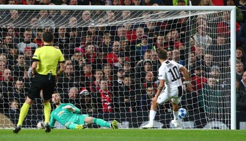 David de Gea saat melawan Juventus