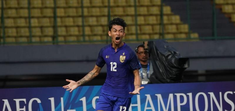 Pemain Timnas Thailand U-19, Korawich Tasa (Foto: AFC)