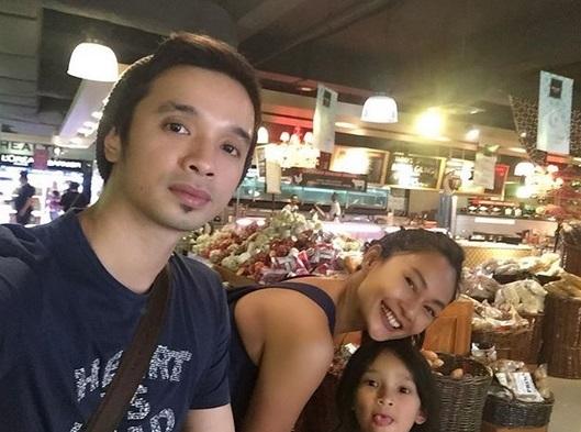 Enditha, Onci, dan anak