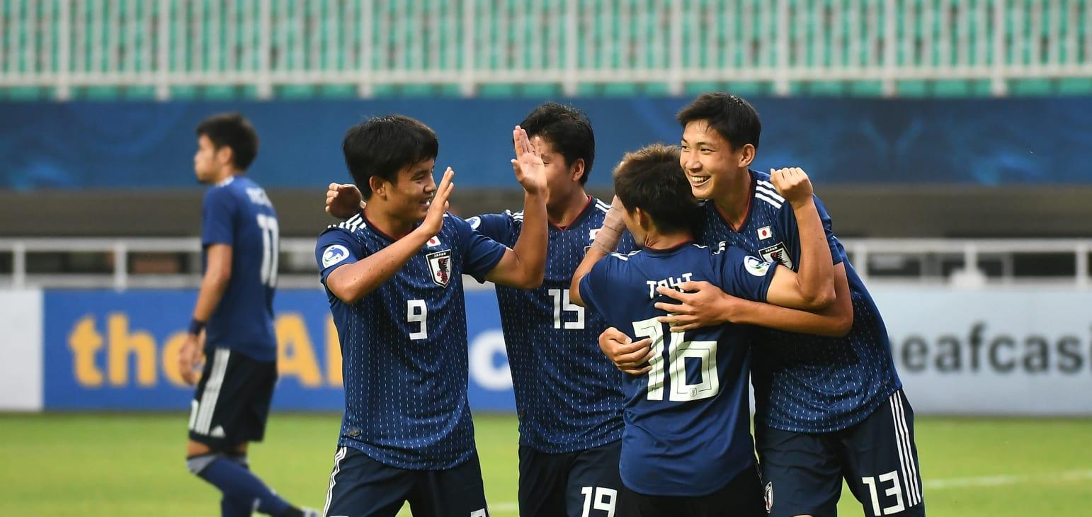 Timnas Jepang U-19 (Foto: laman resmi AFC)