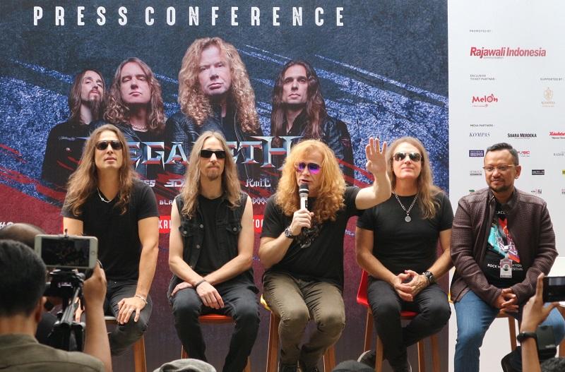 Megadeth di JogjaROCKarta