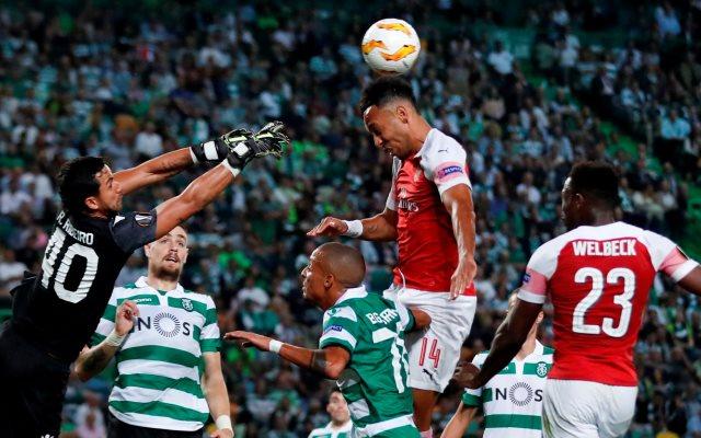 Sporting vs Arsenal