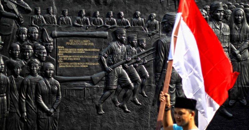 Ilustrasi Sumpah Pemuda. (Foto: Okezone)