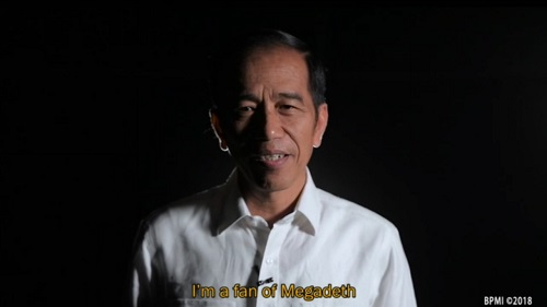 Jokowi di JogjaROCKarta