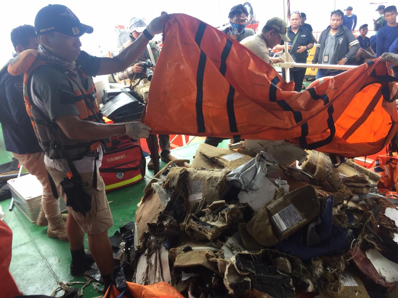 Evakuasi korban Lion Air