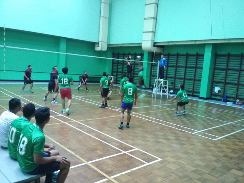 Final voli putra turnamen HUT Ke-29 MNC Group. Foto: Istimewa
