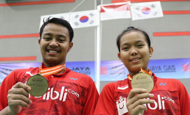 Rehan Naufal/Siti Fadia (Foto: laman resmi PBSI)