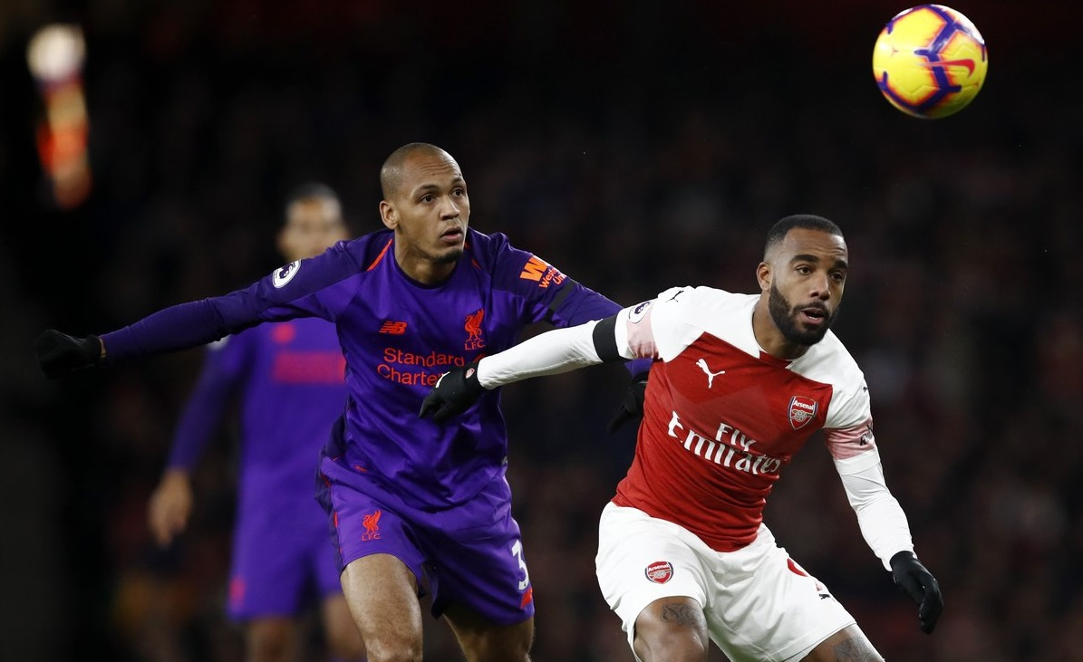 Arsenal vs Liverpool pada perjumpaan November 2018