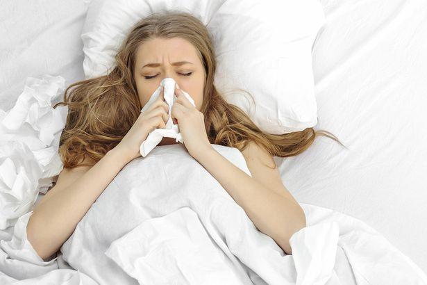 flu mampet