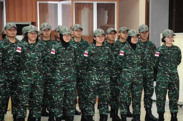 TNI AD lepas kontingen ke AARM
