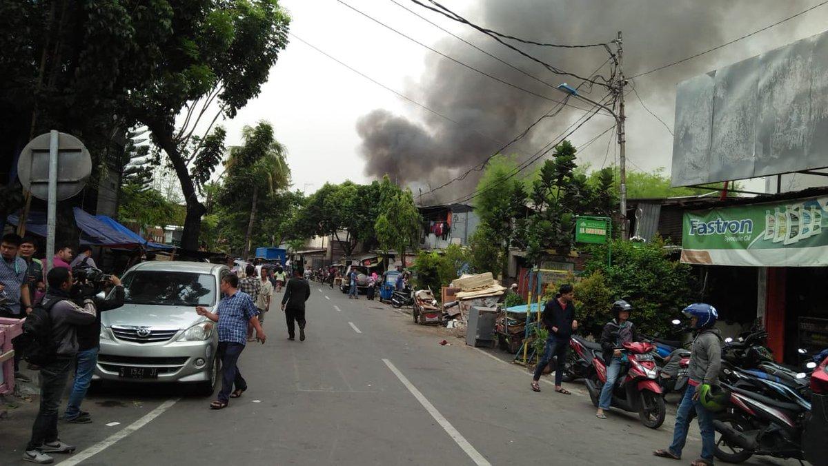 Kebakaran di Grogol