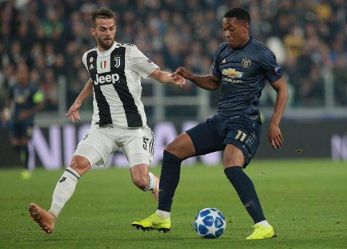 Juventus vs Man United (Foto: twitter Juventus)