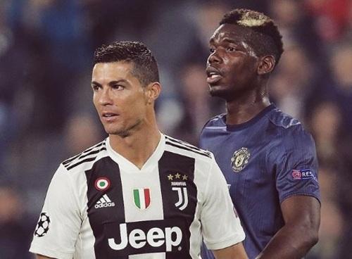 Cristiano Ronaldo dan Paul Pogba (Foto: instagram Man United)
