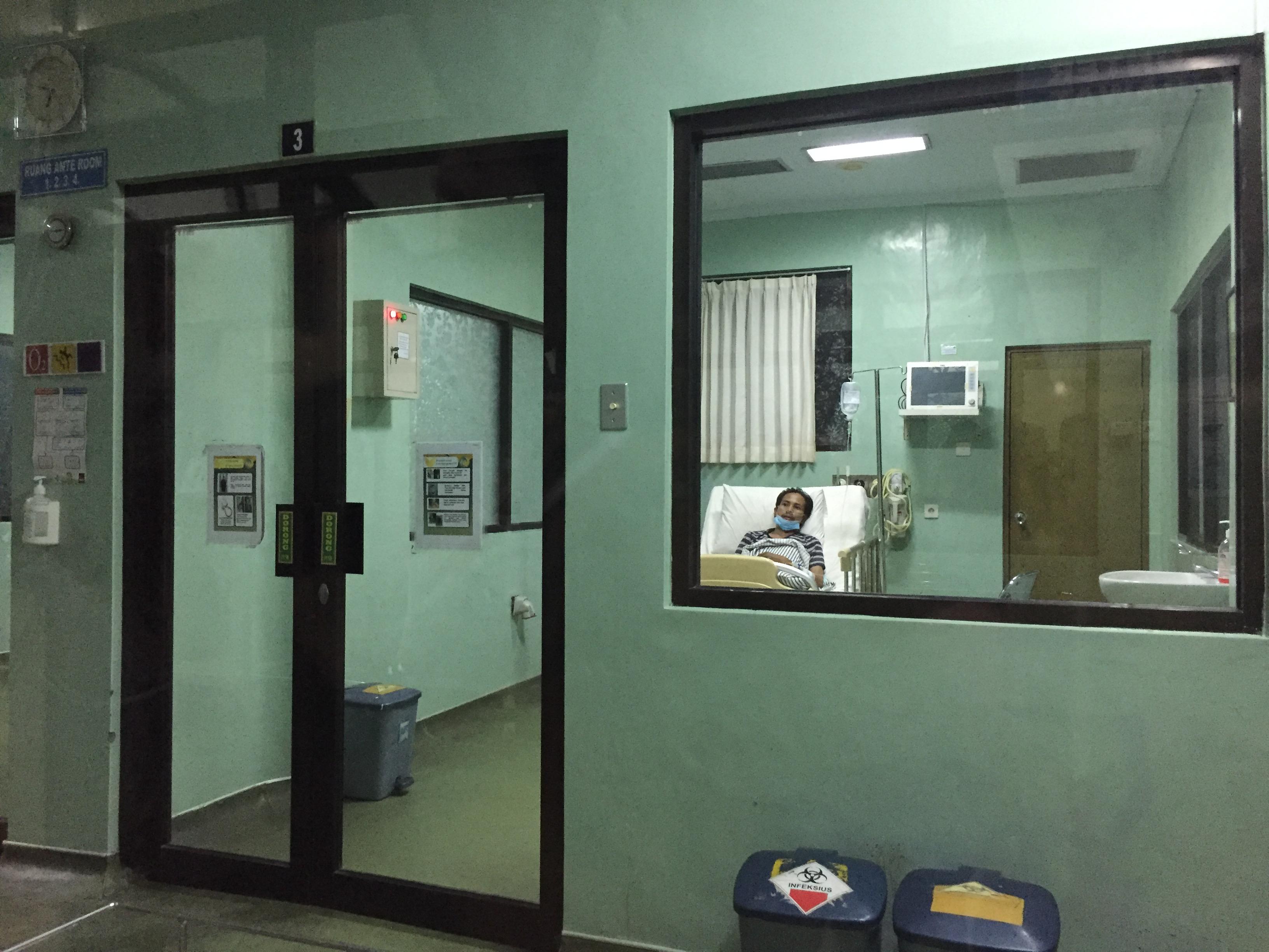 ruang isolasi RSUP