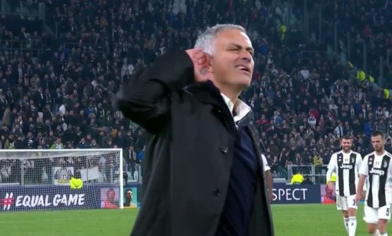 Jose Mourinho (Foto: Twitter Squawka)