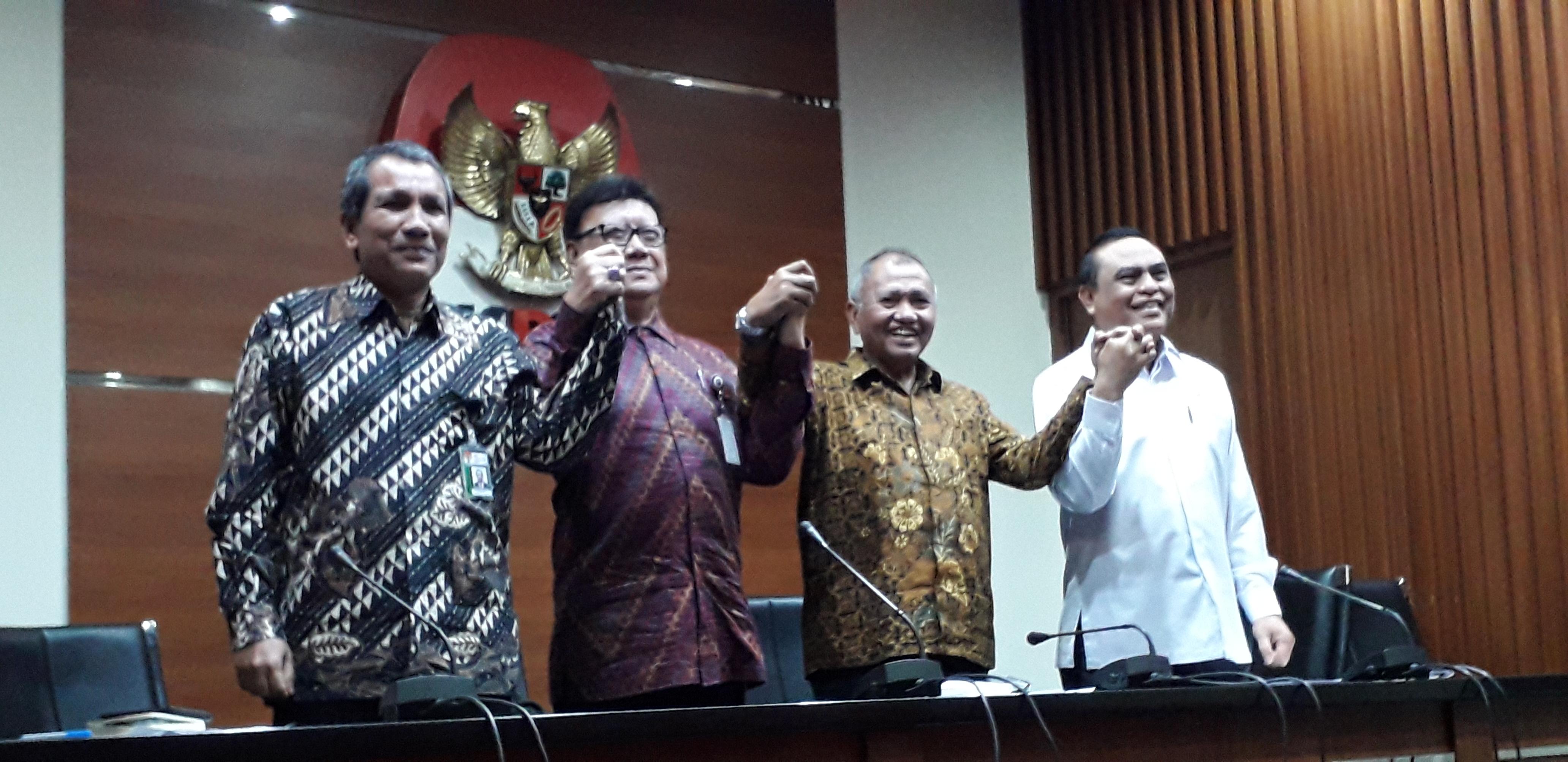 KPK, Mendagri, dan Menpan RB sepakat penguatan APIP