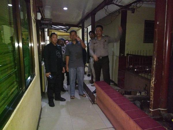 Polsek Metro Penjaringan diserang (Ist)