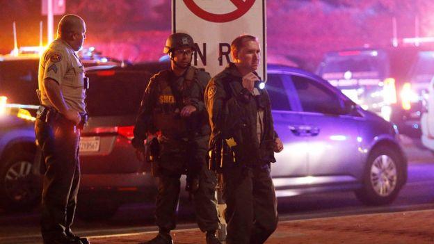 Tersangka pelaku ditemukan tewas di dalam bar. (Reuters)