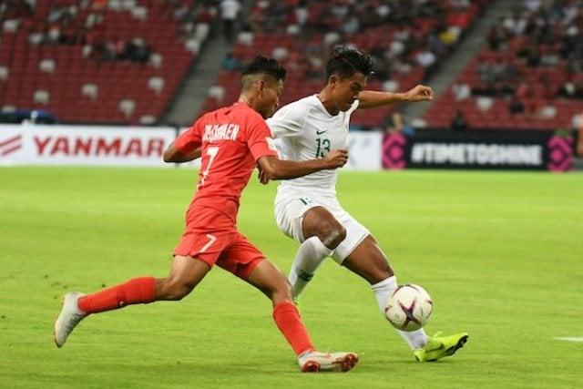 Timnas Indonesia vs Singapura (Foto: laman resmi Piala AFF 2018)