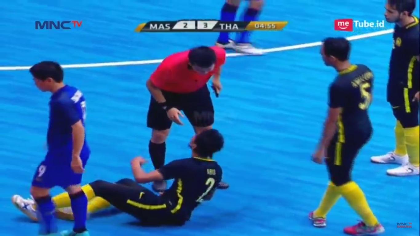 Thailand vs Malaysia di Piala AFF Futsal 2018