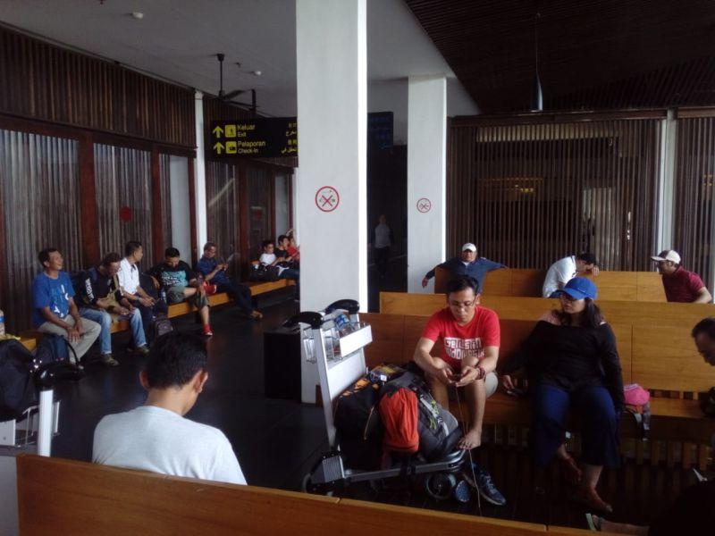 Penumpang Citilink terlantar di Bandara Banyuwangi