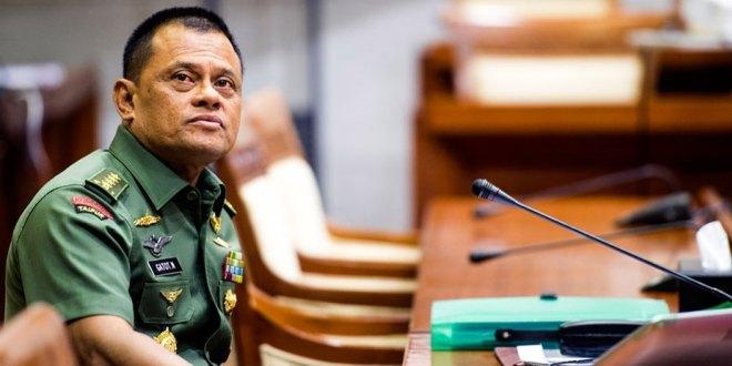 Gatot Nurmantyo saat masih menjadi Panglima TNI