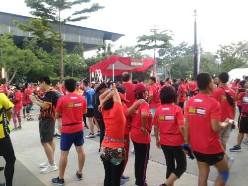 RCTI Reds Run 2018 (Foto: Andika Pratama/Okezone)