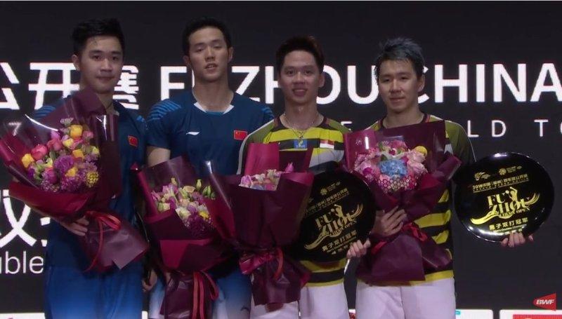 Marcus Fernaldi Gideon/Kevin Sanjaya Sukamuljo juara di Hong Kong Open 2018