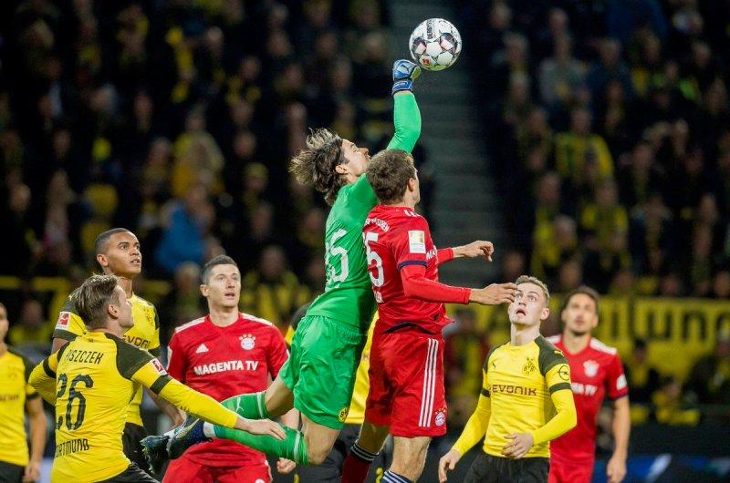 Borussia Dortmund vs Bayern Munich (Foto: Twitter Dortmund)