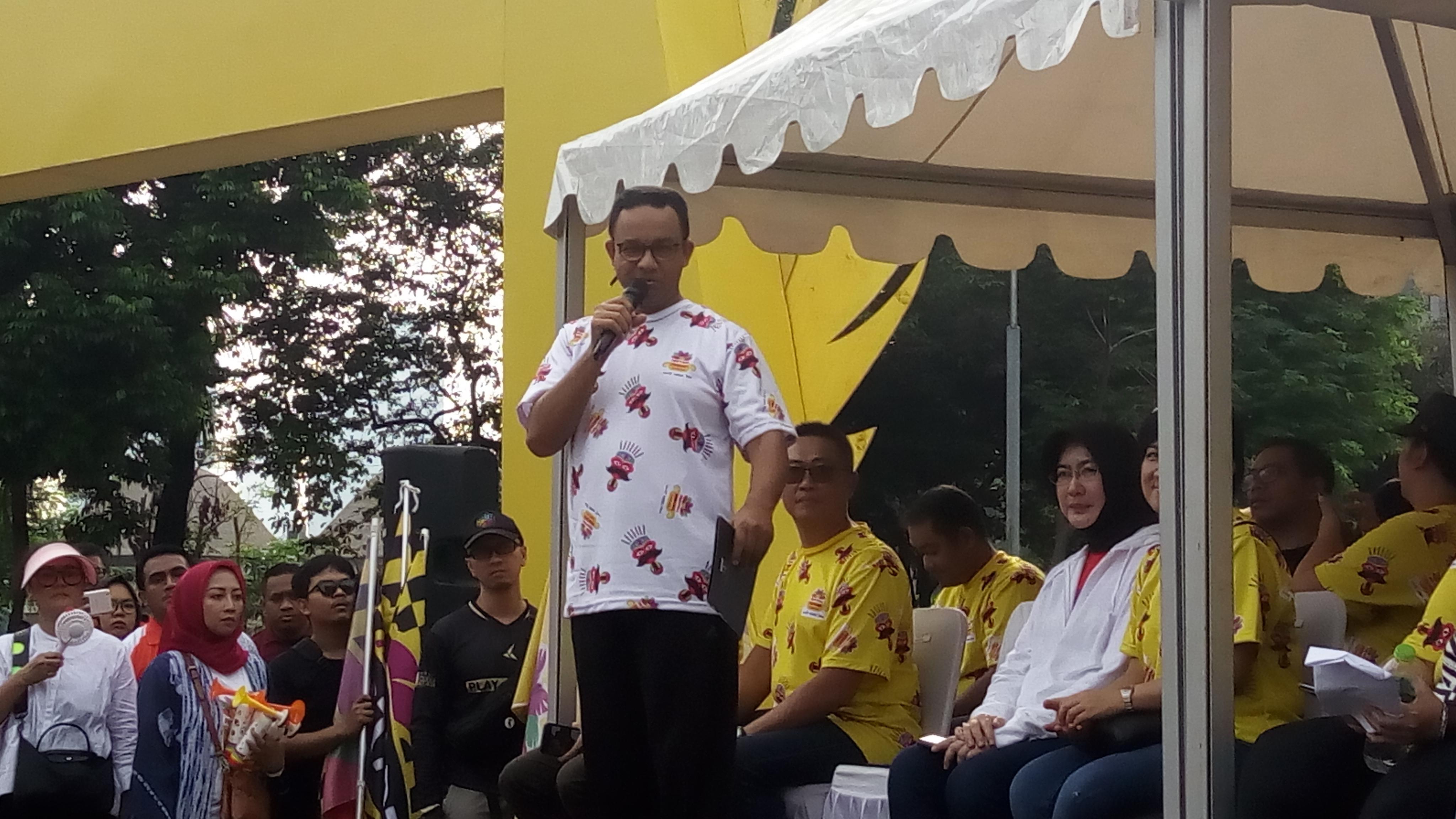Anies Baswedan di Festival Pesona Lokal Jakarta