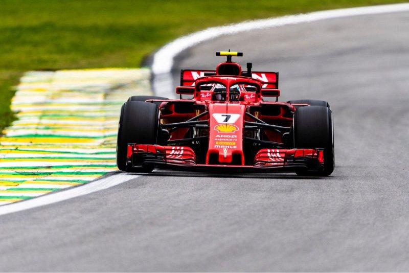 Pembalap Scuderia Ferrari Kimi Raikkonen