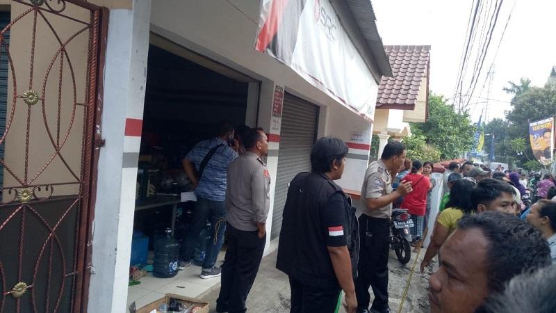 Lokasi pembunuhan di Bekasi