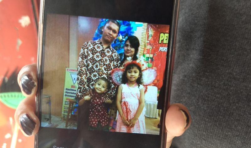 Korban pembunuhan satu keluarga