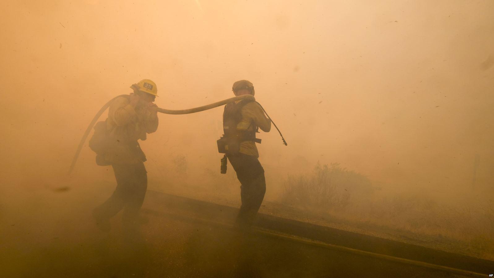 Kebakaran hutan (VoaIndonesia)