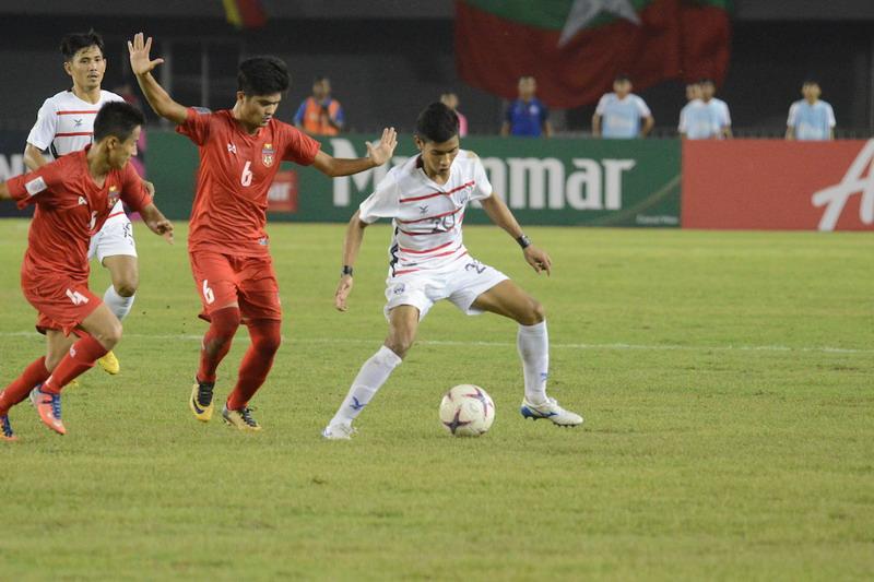 Timnas Myanmar vs Kamboja