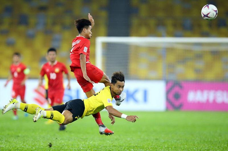 Laga Malaysia vs Laos. Foto: Laman resmi Piala AFF 2018