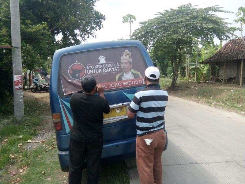 Stiker Raja Jokowi