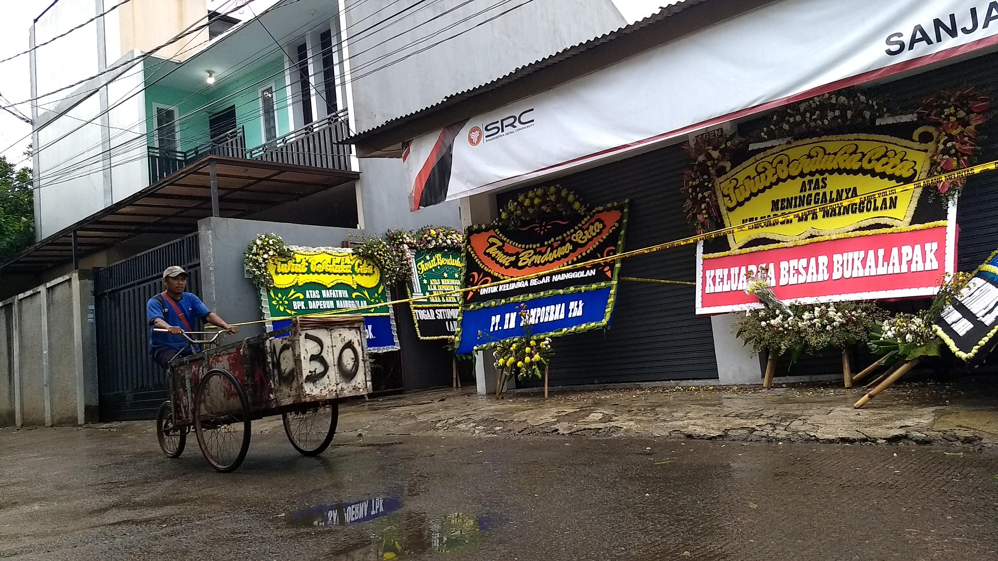 TKP Pembunuhan di Bekasi