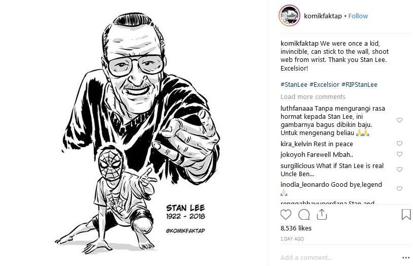 Tribute untuk Stan Lee